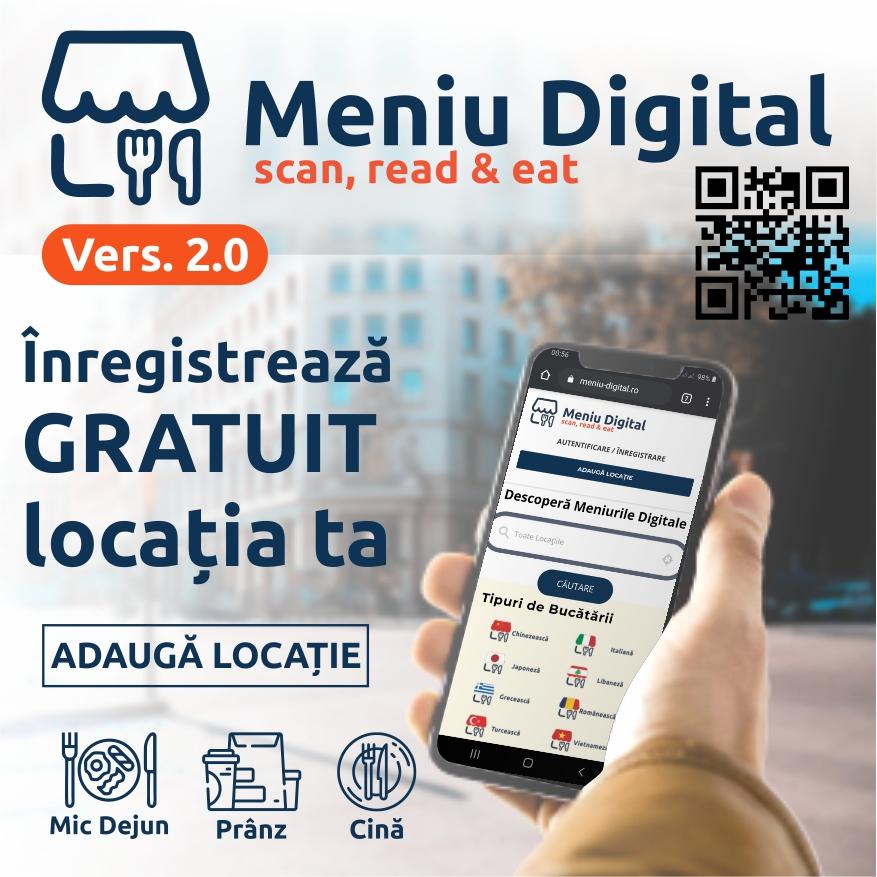 Meniu Digital